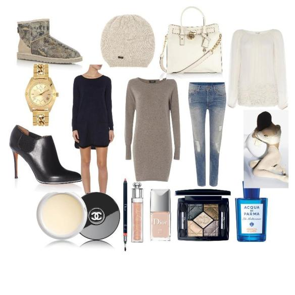 Winter luxe comfy